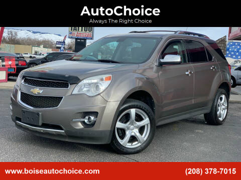 2011 Chevrolet Equinox for sale at AutoChoice in Boise ID