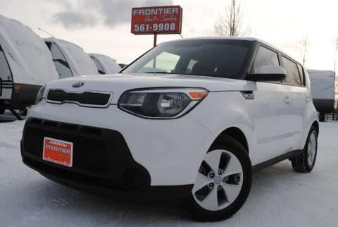 2015 Kia Soul for sale at Frontier Auto & RV Sales in Anchorage AK