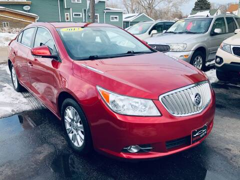 2012 Buick LaCrosse for sale at SHEFFIELD MOTORS INC in Kenosha WI