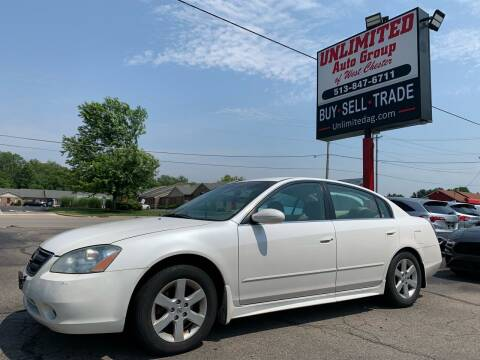 2003 Nissan Altima for sale at Unlimited Auto Group in West Chester OH