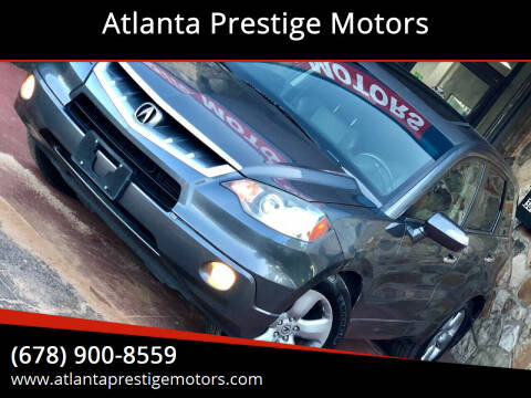 2008 Acura RDX for sale at Atlanta Prestige Motors in Decatur GA