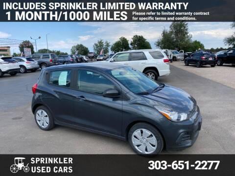 2017 Chevrolet Spark for sale at Sprinkler Used Cars in Longmont CO