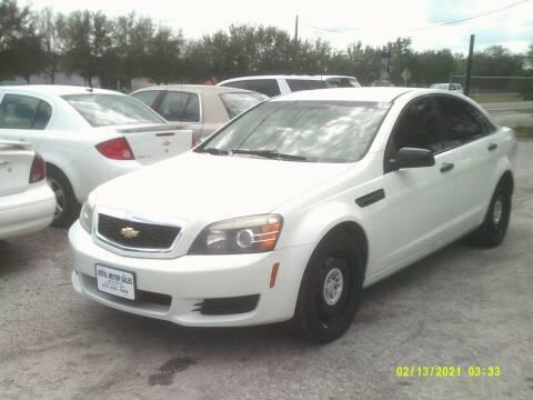 2013 Chevrolet Caprice for sale at ROYAL MOTOR SALES LLC in Dover FL