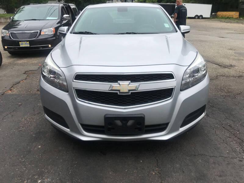 2013 Chevrolet Malibu for sale at Worldwide Auto Sales in Fall River MA