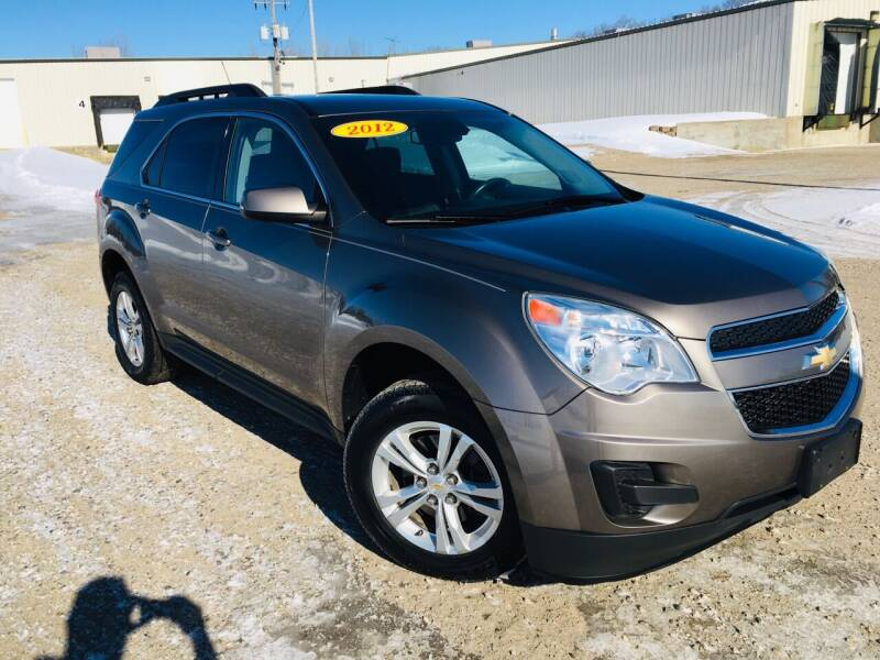 2012 Chevrolet Equinox for sale at MINNESOTA CAR SALES in Starbuck MN