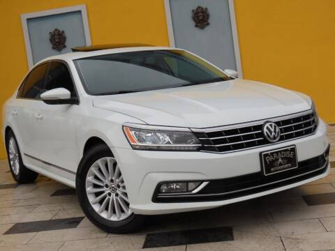 2017 Volkswagen Passat for sale at Paradise Motor Sports LLC in Lexington KY