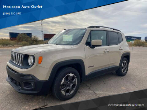 2015 Jeep Renegade for sale at Maricopa Auto Outlet in Maricopa AZ