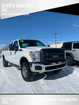 2016 Ford F-250 Super Duty for sale at Quality Auto City Inc. in Laramie WY