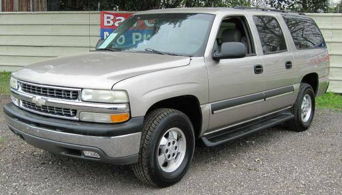 2003 Chevrolet Suburban for sale at Jackson Motors Used Cars in San Antonio TX