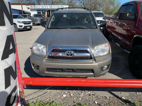 2006 Toyota 4Runner for sale at BULLSEYE MOTORS INC in New Braunfels TX