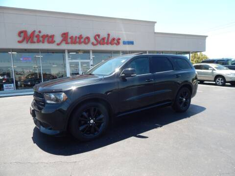 2012 Dodge Durango for sale at Mira Auto Sales in Dayton OH