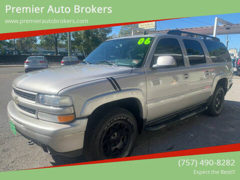 2006 Chevrolet Suburban for sale at Premier Auto Brokers in Virginia Beach VA