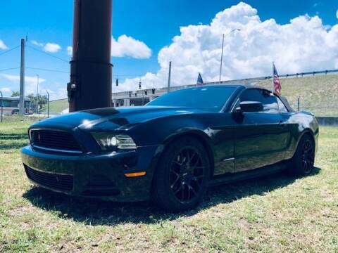 2013 Ford Mustang for sale at Venmotors LLC in Hollywood FL