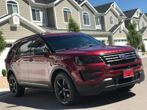 2016 Ford Explorer for sale at Avanesyan Motors in Orem UT