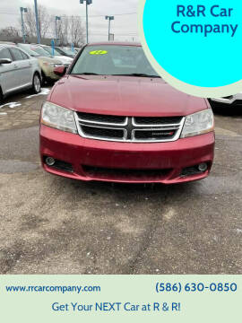 2014 Dodge Avenger for sale at R&R Car Company in Mount Clemens MI