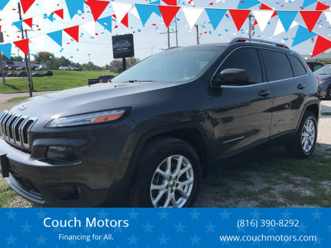 2015 Jeep Cherokee for sale at Couch Motors in Saint Joseph MO
