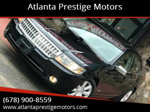 2007 Lincoln MKZ for sale at Atlanta Prestige Motors in Decatur GA