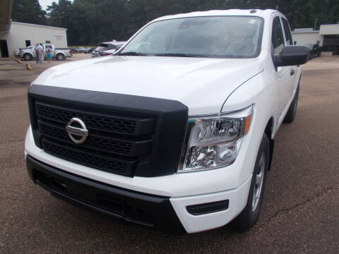 2021 Nissan Titan for sale at Howell Buick GMC Nissan - New Nissan in Summit MS