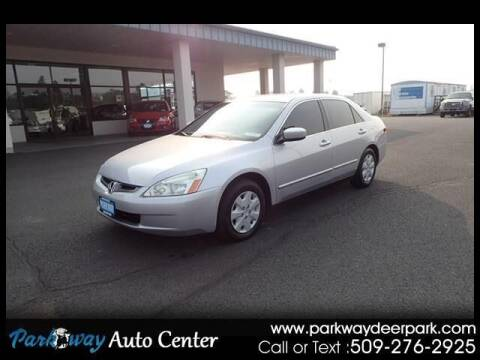 2004 Honda Accord for sale at PARKWAY AUTO CENTER AND RV in Deer Park WA
