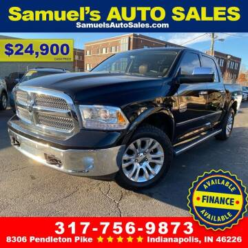 2014 RAM Ram Pickup 1500 for sale at Samuel's Auto Sales in Indianapolis IN