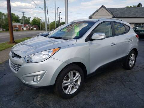 2013 Hyundai Tucson for sale at STRUTHER'S AUTO MALL in Austintown OH