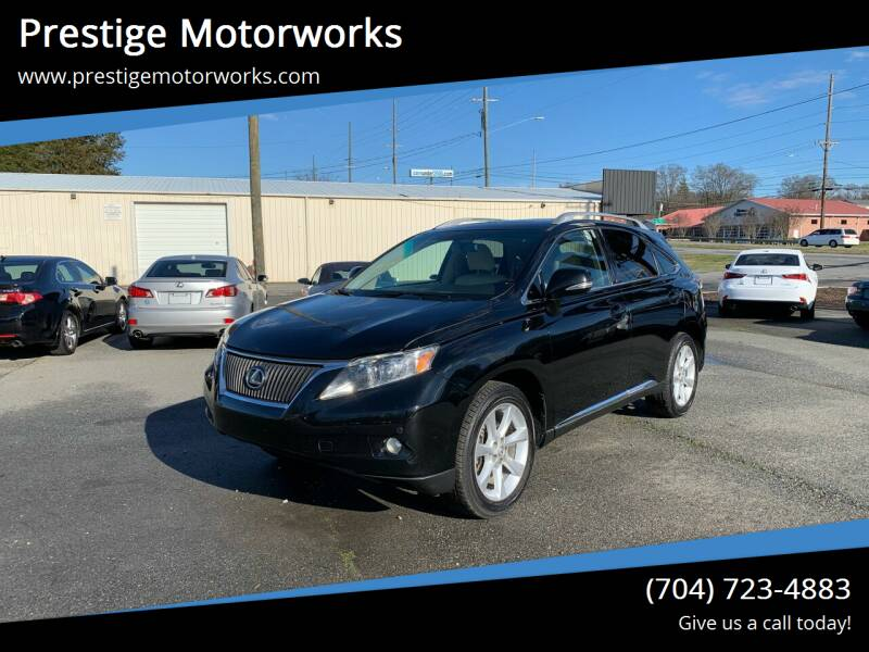 2011 Lexus RX 350 for sale at Prestige Motorworks in Concord NC