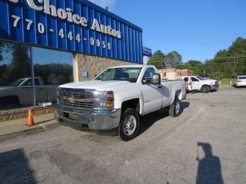 2016 Chevrolet Silverado 2500HD for sale at Southern Auto Solutions - 1st Choice Autos in Marietta GA