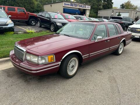 1993 Lincoln Town Car for sale at Steve's Auto Sales in Madison WI