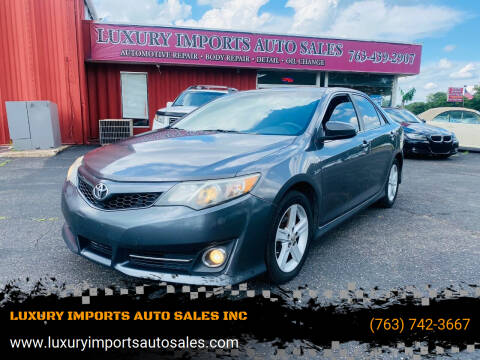 2014 Toyota Camry for sale at LUXURY IMPORTS AUTO SALES INC in North Branch MN