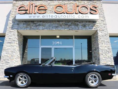 1968 Chevrolet Camaro for sale at Elite Autos LLC in Jonesboro AR