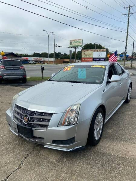 2010 Cadillac CTS for sale at Top Auto Sales in Petersburg VA