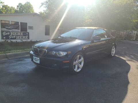 2004 BMW 3 Series for sale at TR MOTORS in Gastonia NC