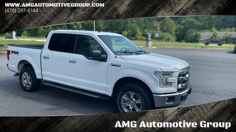 2017 Ford F-150 for sale at AMG Automotive Group in Cumming GA