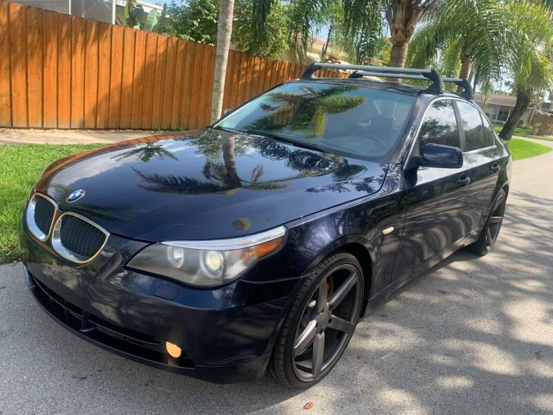 2005 BMW 5 Series for sale at FINANCIAL CLAIMS & SERVICING INC in Hollywood FL