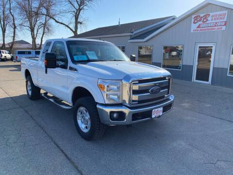 2012 Ford F-250 Super Duty for sale at B & B Auto Sales in Brookings SD