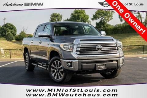 2019 Toyota Tundra for sale at Autohaus Group of St. Louis MO - 3015 South Hanley Road Lot in Saint Louis MO