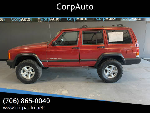 1999 Jeep Cherokee for sale at CorpAuto in Cleveland GA