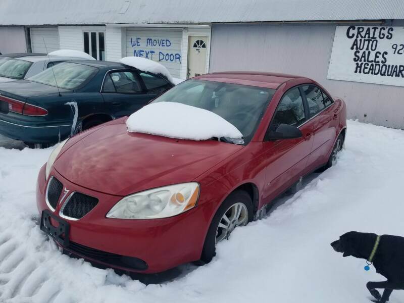 2006 Pontiac G6 for sale at Craig Auto Sales in Omro WI
