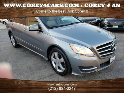 2012 Mercedes-Benz R-Class for sale at WWW.COREY4CARS.COM / COREY J AN in Los Angeles CA
