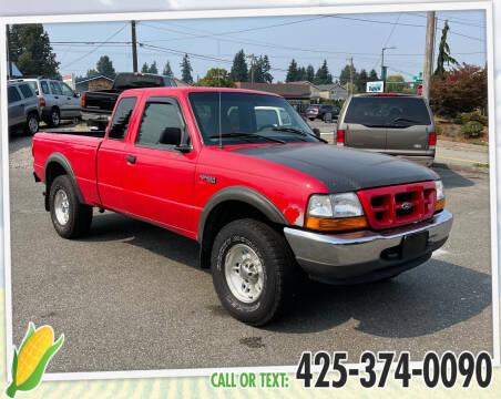 1999 Ford Ranger for sale at Corn Motors in Everett WA