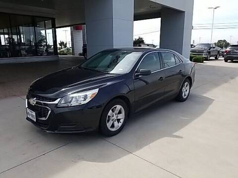 2015 Chevrolet Malibu for sale at Jerry's Buick GMC in Weatherford TX