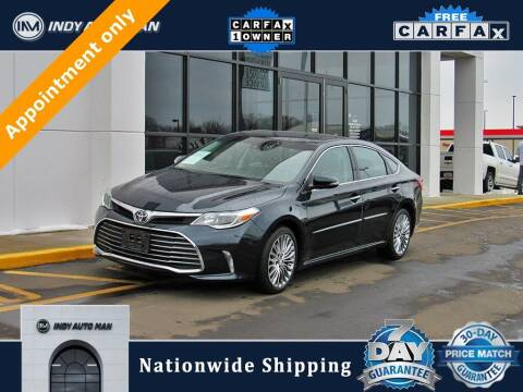 2017 Toyota Avalon for sale at INDY AUTO MAN in Indianapolis IN
