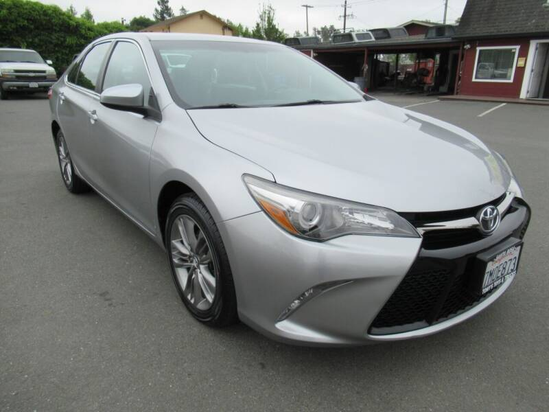 2015 Toyota Camry for sale at Tonys Toys and Trucks in Santa Rosa CA