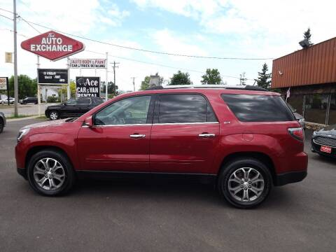2013 GMC Acadia for sale at The Auto Exchange in Stevens Point WI