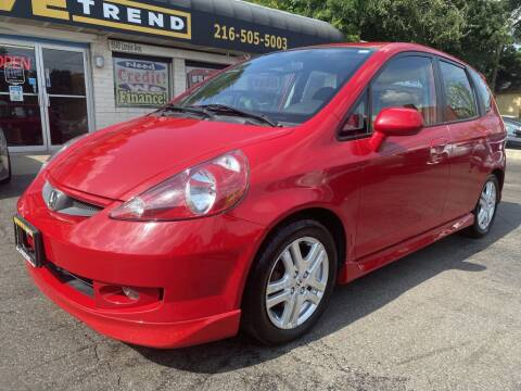 2007 Honda Fit for sale at DRIVE TREND in Cleveland OH