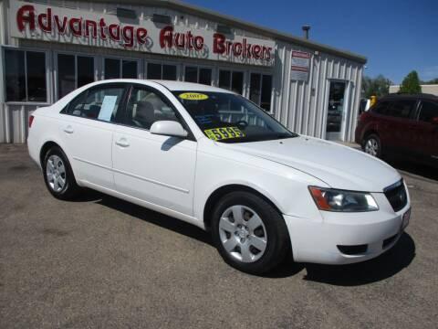 2007 Hyundai Sonata for sale at Advantage Auto Brokers Inc in Greeley CO