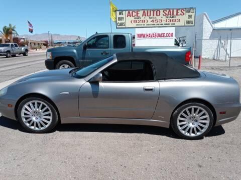 2002 Maserati Spyder for sale at ACE AUTO SALES in Lake Havasu City AZ