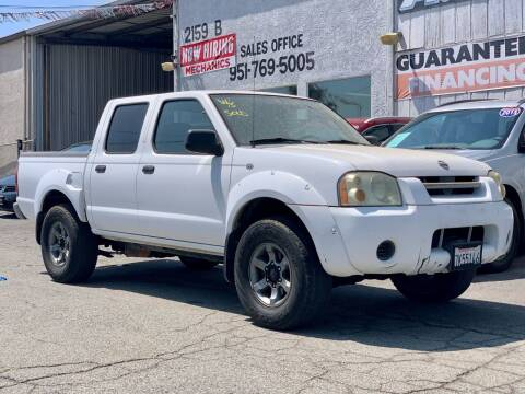 2004 Nissan Frontier for sale at Auto Source in Banning CA