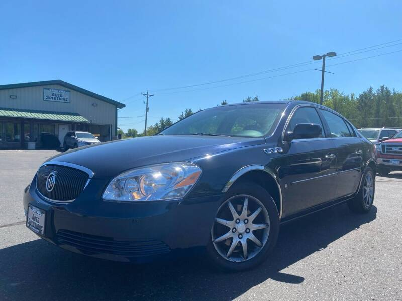 2007 Buick Lucerne for sale at Lakes Area Auto Solutions in Baxter MN
