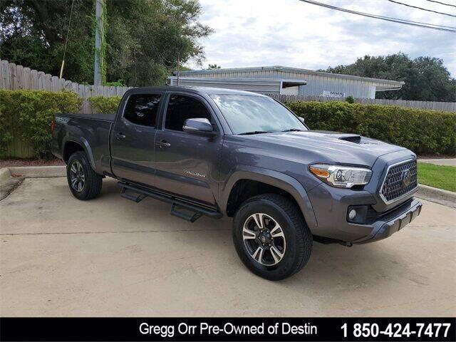2018 Toyota Tacoma for sale at Gregg Orr Pre-Owned of Destin in Destin FL